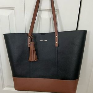 Cole Haan Bayleen Leather Tote NWOT